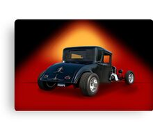 1930 Hudson Hot Rod Coupe Canvas Print