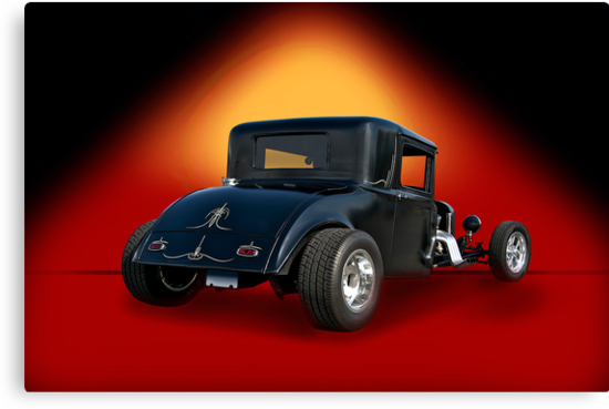 1930 Hudson Hot Rod Coupe by DaveKoontz
