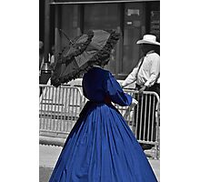 Blue Dress Photographic Print