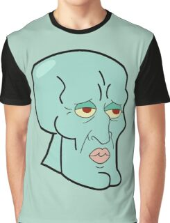 Handsome Squidward Graphic T-Shirt