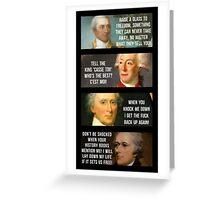 The Revolutionaries Greeting Card