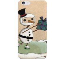 Snowman Gift iPhone Case/Skin