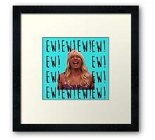 Sara Says Ew!  Framed Print