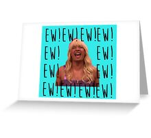Sara Says Ew!  Greeting Card
