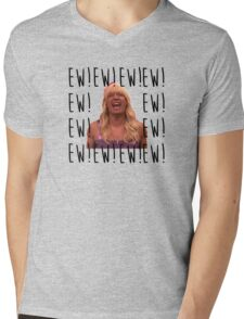 Sara Says Ew!  Mens V-Neck T-Shirt