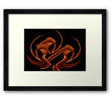 Curvilinear Project No. 21  ( Hyper Sphinx ) Framed Print