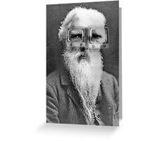 Eadweard Muybridge. Greeting Card