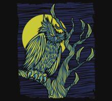 Owl Night by SmittyArt