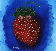 'STUDY FOR A STRAWBERRY'  by Jerry Kirk