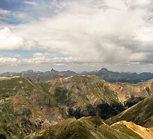 Wetterhorn and Uncompahgre Peak by Reese Ferrier