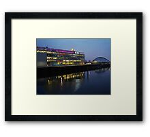 BBC, Glasgow Framed Print