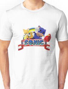 Paper Sonic Unisex T-Shirt