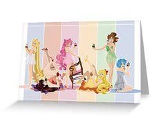 Sailor Moon Pinup - Cupcakes Greeting Card