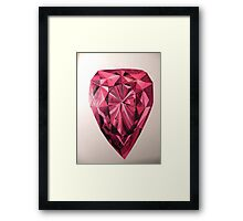Blood tear Framed Print