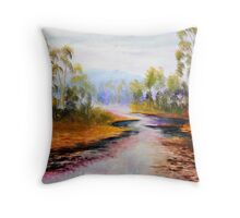 ovens river purple delights Throw Pillow