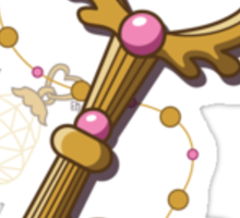 Chibiusa Time Key - Sailor Moon Sticker