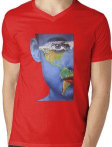 Eye on the Americas Mens V-Neck T-Shirt