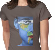 Eye on the Americas Womens Fitted T-Shirt