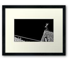 Church is †he New Black Framed Print