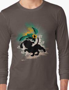 Super Smash Bros. White/Dalmatian Duck Hunt Dog Long Sleeve T-Shirt