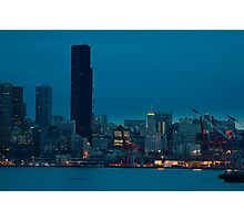 predawn downtown Photographic Print