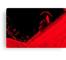 Church is †he New Red II Canvas Print