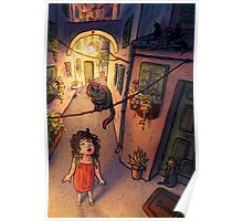 Cat Alley Poster