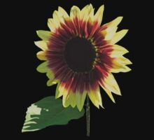 Sunflower Ring of Fire Baby Tee