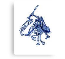 Skeleton Horse Canvas Print