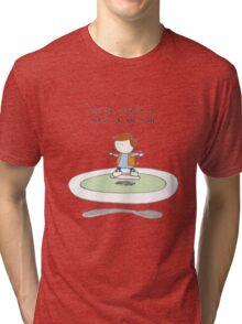 Back to the waiter Tri-blend T-Shirt