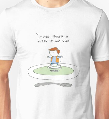Back to the waiter Unisex T-Shirt
