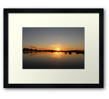 Everything's Alright Framed Print