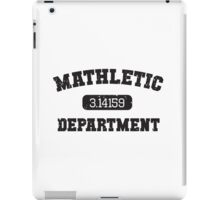 Mathletic Department iPad Case/Skin