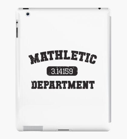 Mathletic Department iPad Case/Skin