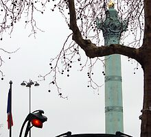 Place de la Bastille by MrPaulin