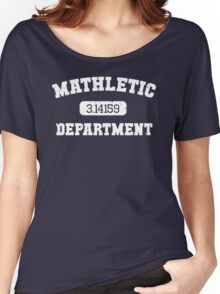 Mathletic Department Women's Relaxed Fit T-Shirt
