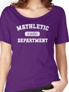Mathletic Department Women's Relaxed Fit T-Shirt