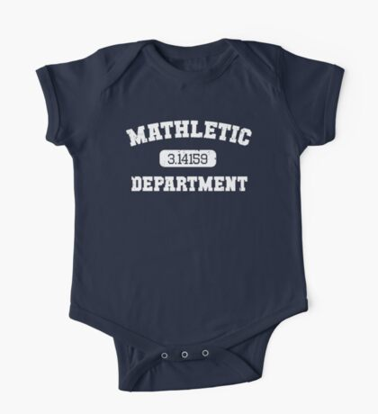 Mathletic Department One Piece - Short Sleeve