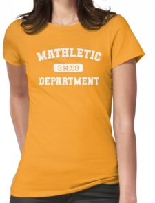 Mathletic Department Womens Fitted T-Shirt