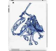 Skeleton Horse iPad Case/Skin