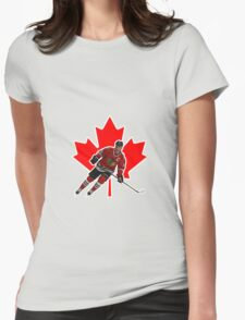 Jonathan Toews Womens Fitted T-Shirt
