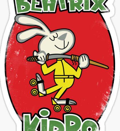 BeaTRIX Kiddo- A Mash Up of Cereal and Revenge Sticker