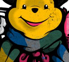 Dr Pooh Sticker