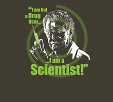 Walter Bishop - I am Not a Drug User...I am a Scientist! Unisex T-Shirt