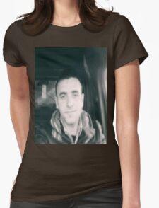 Hi World  Womens Fitted T-Shirt