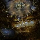 Inner Cosmos by Craig Hitchens - Spiritual Digital Art
