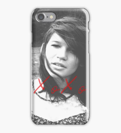 XOXO Kaylee iPhone Case/Skin