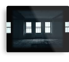 Empty Windows Metal Print
