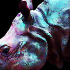 Rhino 1 - Buy Rhinoceros Art Prints by Sharon Cummings