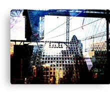 London- A Digital Double Exposure Canvas Print